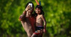 native brazilian selfie photo