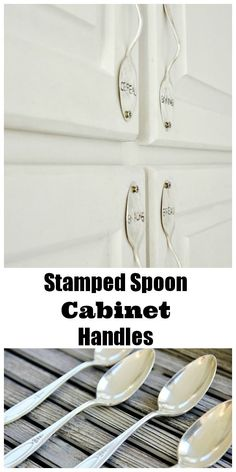 Make A Stamped Spoon Handle For A Piece Of Furniture Or Cabinet. Easy  Project. Thistlewoodfarms.com