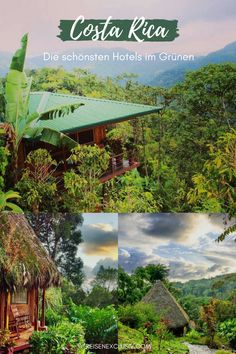 Costa Rica: Perfekte Hotels im Grünen - reisen EXCLUSIVCosta Rica is known as a destination for nature lovers. The adventure vacation begins with the overnight stay. Here are the most beautiful and sustainable hotels and accommodations in the Centra Europe Destinations, Europe Travel Tips, Best Places In Europe, Places To See, Adventure Holiday, Adventure Travel, Koh Lanta Thailand, Costa Rica Travel, Destination Voyage