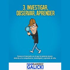 Investiga Aprende y Observa a tu Competencia... pero nunca dejes de aprende para ser cada día mejor en lo que haces... Facebook es un excelente lugar para comenzar... Si te gustó comparte o déjame un Like... #ivangalicki #Marketing #marketingdigital #negocios #negocio #negociopropio #negocioindependiente #emprendedor #emprendedores #internetmarketing #networkmarketing #multinivel #dinero #dineroextra #libertadfinanciera #exito #exitos #estilodevida #motivacion #mercadeo #mercadeoenred…