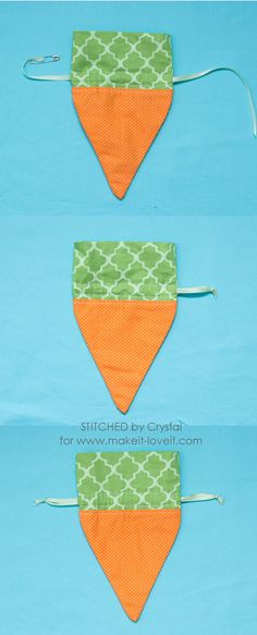 Sew a Carrot Treat Bag for Easter! - Elisabeth Hoffmann - Sew a Carrot Treat Bag for Easter! Sew a carrot treat bag for easter! Easter Projects, Sewing Projects For Beginners, Easter Crafts, Love Sewing, Sewing For Kids, Hand Sewing, Diy Ostern, Fabric Purses, Treat Bags