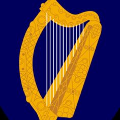 Ireland State Symbols, Song, Flags and Irish Coat Of Arms, National Animal, Spray Paint Art, Family Genealogy, Emerald Isle, Mammals, Celtic, Ireland, Illustration
