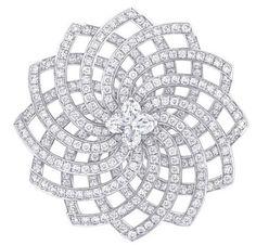 Louis Vuitton diamond brooch
