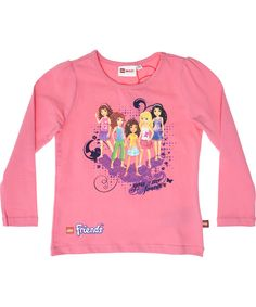 LEGO Friends lief roze t-shirt. lego-wear.nl.emilea.be