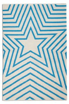 """Star Rug...would be precious for someone in the """"Star City"""" :)"""