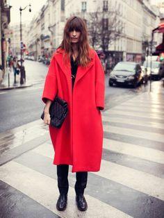 #Manteau #Oversize #Couleur #Franche et #Acidulee
