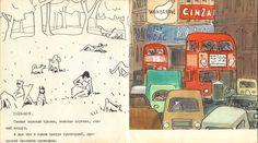 Лондон. Стрэдфорд на Эйвоне. Манчестер. Из книги: Кокорин, А. В. Англия, Шотландия и Ирландия — М.: Сов. художник, 1972. Остальные части: Шотландия Ирландия