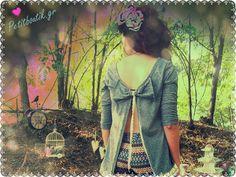 #bow #open #cage #lace #vintage #bag #vintage #girly #romantic #boutik