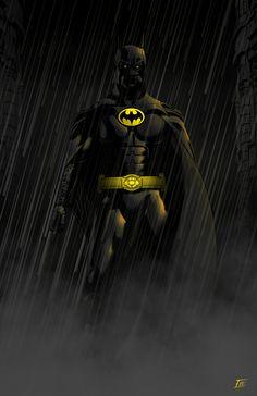 Image of Michael Keaton Batman 11x17 Poster
