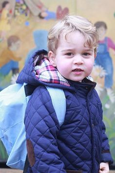 OMG. See more adorable snaps of Prince George's first day at school...