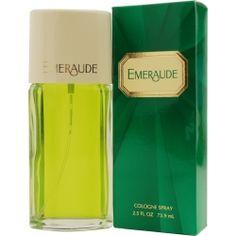 Emeraude By Coty Perfume Spray 1 Oz (unboxed) Perfume Parfum, Perfume Hermes, Perfume Versace, Perfume Diesel, Fragrance Parfum, Fragrance, Jars, Branding, Memories