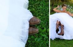 #bride #photography #wedding #cowboy boots