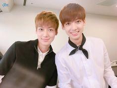 Jo twins Youngmin and Kwangmin
