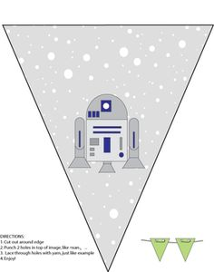 Party Banner, Star Wars, Party Decorations - Free Printable Ideas from Family Shoppingbag.com