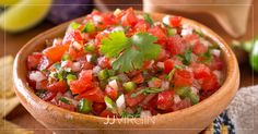 Inspired by Tex-Mex flavors, this fresh, easy recipe comes together in minutes and makes the perfect healthy addition to your next party or potluck. Paleo Appetizers, Appetizer Recipes, Snack Recipes, Healthy Recipes, Healthy Foods, Homemade Tortilla Chips, Homemade Tortillas, Chipotle Recipes, Mexican Food Recipes