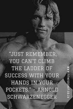 Arnold Schwarzenegger fitness quotes