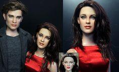 Kristen Stewart doll repaint by noeling.deviantart.com