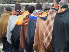 Romeiros (pilgrims) during Lent in São Miguel island. Azores.com
