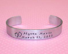 Mother's Day / Mom Gift / Mom Bracelet Custom Hand by KorenaLoves, $25.00