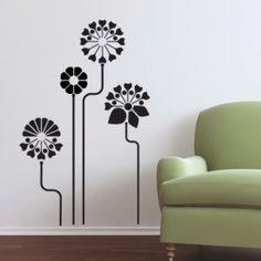 Wall Decal Modern Garden
