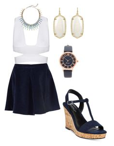 """""""Untitled #67"""" by becca-f1229 ❤ liked on Polyvore featuring Glamorous, Charles by Charles David, Kendra Scott and Kate Spade"""