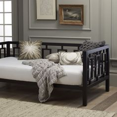 Window Daybed - Chocolate   west elm (as sleeper couch)