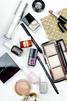 Most-loved products of 2014 #bbloggers. Happy New Year everyone! Hope you all had a fun and safe night! I spent my New Year's Eve at home with hubby and Blu, watching movies, eating sushi and sipping on some bubbly. Today I have a quick post for you, showing my favorite beauty products of 2014.
