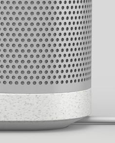 Check this out on leManoosh.com: #Aluminum #Blond Design #iphone #Minimalist #Speakers #Speckled #Vent