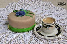 Cake Torta Мастика сахарная Торт Прага Василек cornflower https://vk.com/svetkintort
