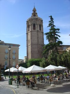 El Miguelete. Valencia. Spain Went here on a day trip and I remember it because they claim to hold the holy grail here.