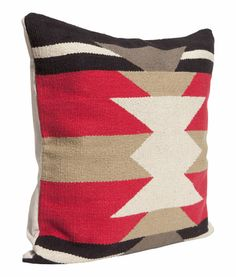 Woven cushion cover  $18 (but on sale for $10 right now) h&m