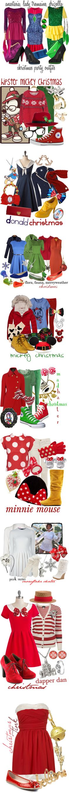 """Disney Christmas"" by princesschandler on Polyvore"