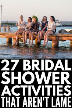 Bridal Shower Crafts, Wedding Shower Activities, Outdoor Bridal Showers, Simple Bridal Shower, Beach Bridal Showers, Bridal Shower Decorations, Bachelorette Party Activities, Wedding Showers, Bachelorette Parties