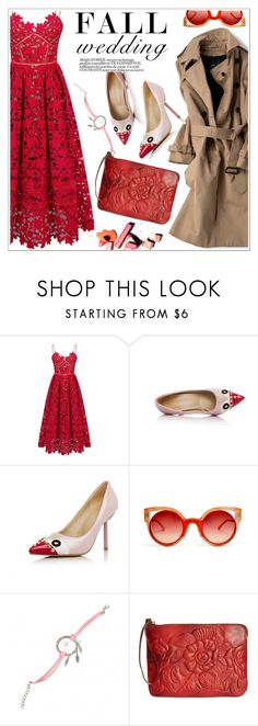 """Fall Wedding"" by teoecar ❤ liked on Polyvore featuring Fendi, Soo Lee, Patricia Nash and fallwedding"