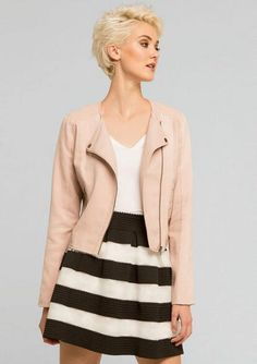 Salene Moto Jacket - Outerwear/Jackets - Clothing - Alloy Apparel