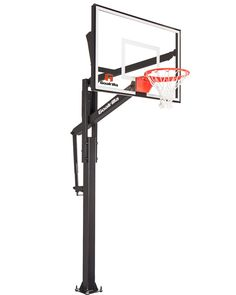 Explore our collection of the best home in-ground basketball hoops, including regulation size and height adjustable hoops that provide professional-level performance. Basketball Goals, Basketball Hoop, College Basketball, Basketball Court Flooring, Basketball Backboard, Fax Number, Rebounding, Daily Deals, Explore