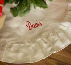 Personalized Christmas Tree Skirt - 4 Styles to Choose From!