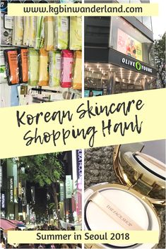 Face masks, face masks and more face masks! Plus tips on where to buy your CC cushions, which shops to avoid (pushy sales staff!) and more of my skincare haul from Korea #seoul #myeongdong #shopping #skincareproducts #facemasks #cushion #bbcream #makeup Beauty Hacks Skincare, Korean Skincare Routine, Beauty Tips, Face Care, Skin Care, Beauty Routine Planner, Witch Hazel For Skin, Wanderland, Image Skincare