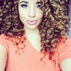 Rizos Definidos On Pinterest Curls Natural Hair