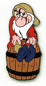 disney grumpy collector's pin