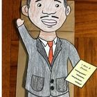 140 x 140 jpeg 6kB, Martin Luther King Jr. Paper Bag Puppet Students ...