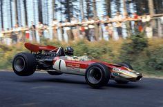 Graham Hill - Lotus 63 - Nurburgring Nordschleife 1969