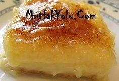 laz böreği :) börek olduğuna bakmayın o bir tatlı :) Turkish Recipes, Ethnic Recipes, Turkish Sweets, Cheesecake Cupcakes, Pie Dessert, Homemade Beauty Products, Food And Drink, Pudding, Yummy Food