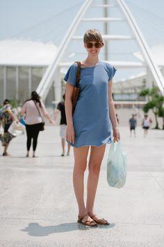 _DSC1586 Overall Shorts, My Heart, Overalls, Street Style, Dresses, Fashion, Vestidos, Moda, Urban Style