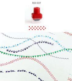 Печать-ролик Red Dot