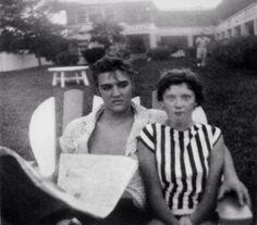 Elvis - Copacabana Motel and La Casita, Daytona Beach, Florida on August 9, 1956.