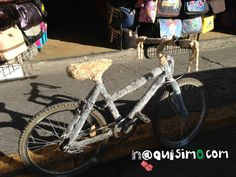Bicicleta de ludovico peluche