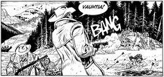 Maxi-Tex #27: Alaskan ihmissyöjät. #tex #willer #egmont #sarjakuva #sarjis