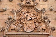 Salamanca - Casa de las Conchas (Entry Detail)