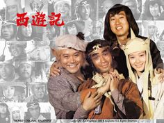 Pigsy, Monkey, Sandy and Tripitaka